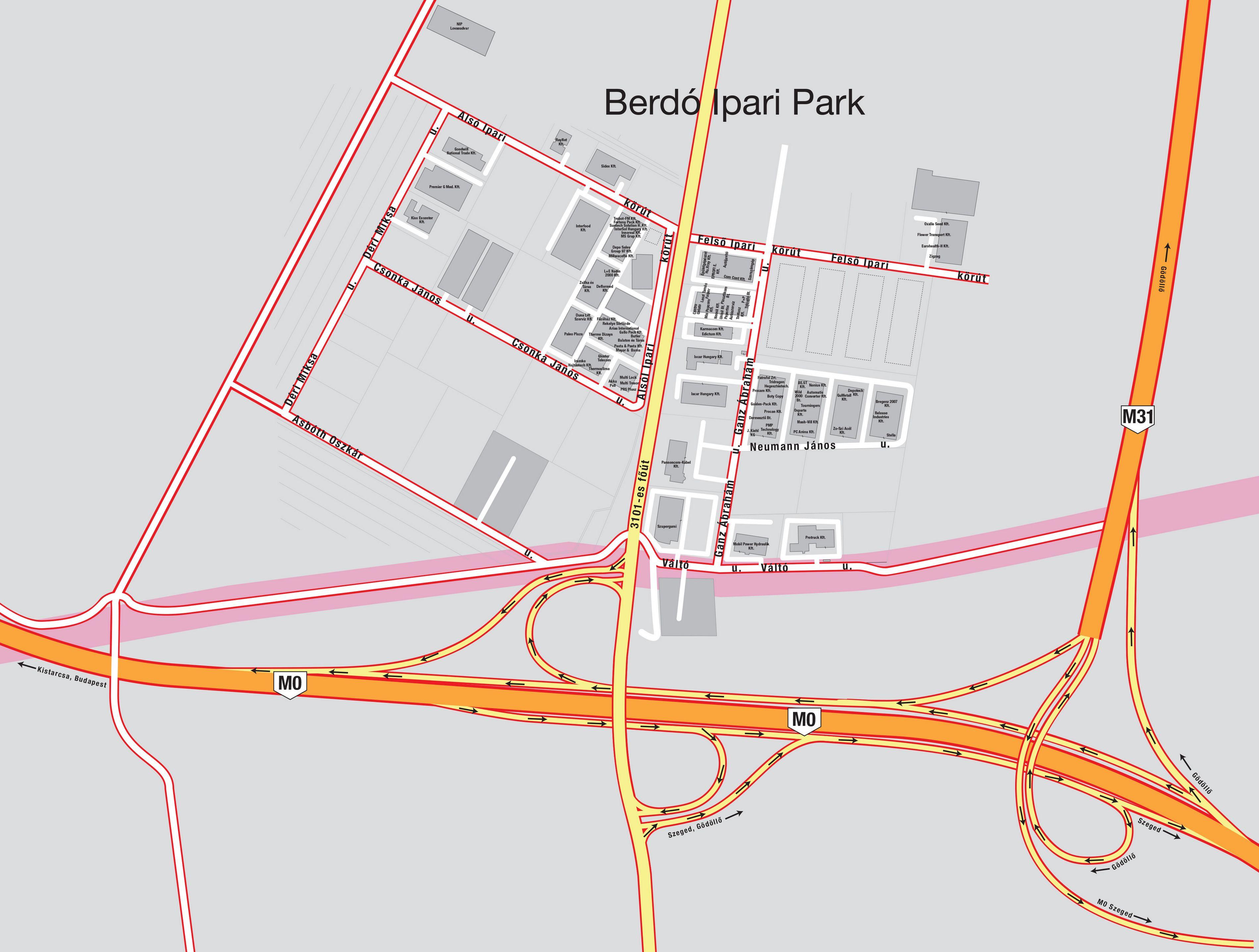 nagytarcsa térkép Nagytarcsa község hivatalos oldala: Ipari park térképek nagytarcsa térkép